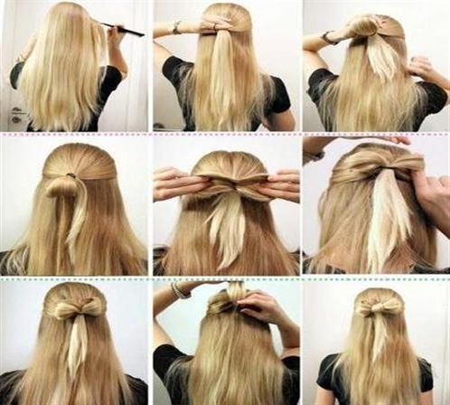 Latest Long Hair Step By Step Hairstyles For Girls Art Craft Ideas