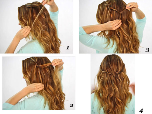 Latest Long Hair Step By Step Hairstyles For Girls Smart Easy Ideas