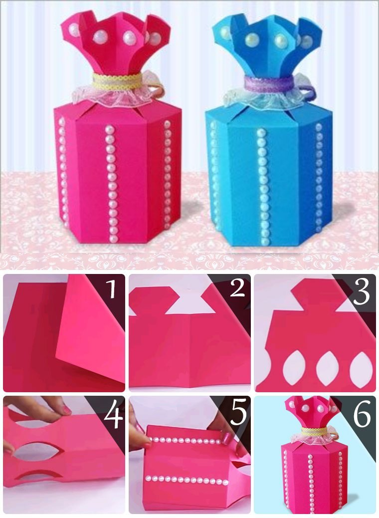 Paper crafts archives art craft ideas hope you like this cute paper gift bags tutorial solutioingenieria Gallery