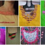 Different types of kurtis neck designs