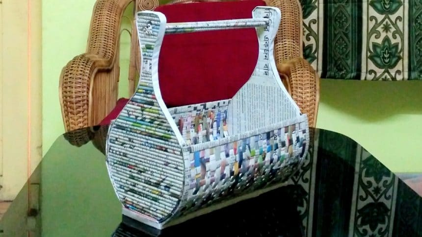 Newspaper Crafts Archives Art Craft Ideas
