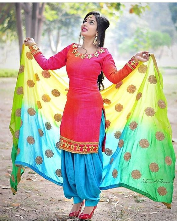 Different Types Of Best Designer Punjabi Salwar Suits For All Time Pretty Looks Art Craft Ideas
