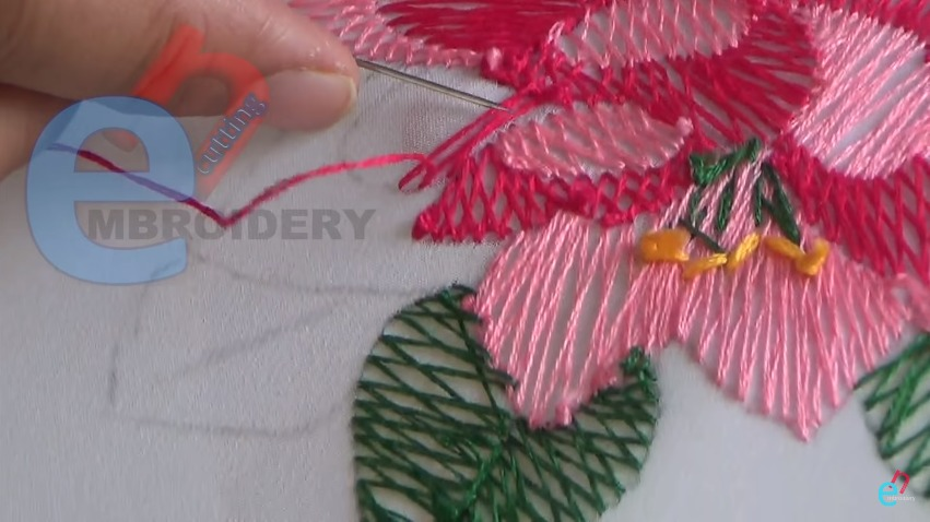 how to do shadow work hand embroidery   art amp craft ideas