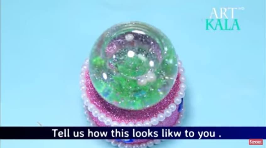 How To Make Snow Globe From Waste Fuse Bulb Best Out Of