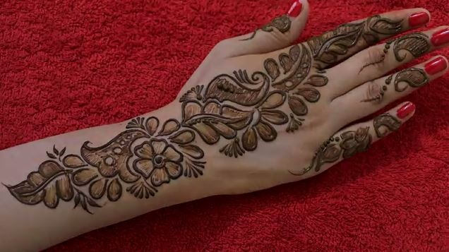 Mehndi Hands Designs : Mehndi designs archives art & craft ideas