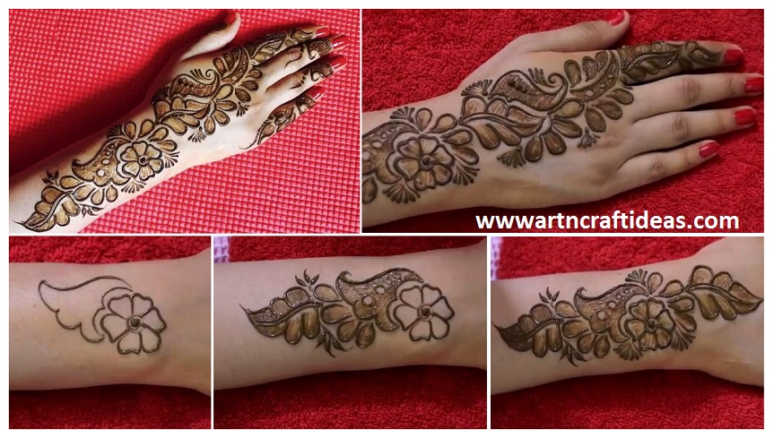 Easy Diy Mehndi Requested Mehendi Designs For Beginners Step By
