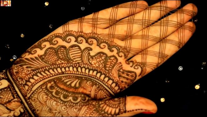 Learn To Draw Basic Bridal Mehendi Designs On Hands Step By Step