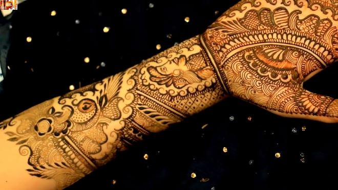 Mehndi Designs Bridal : Learn to draw basic bridal mehendi designs on hands step by
