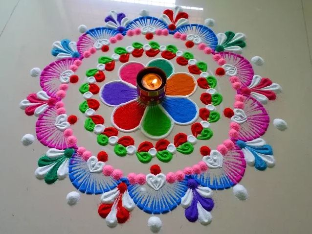 Rangoli Archives Art Craft Ideas